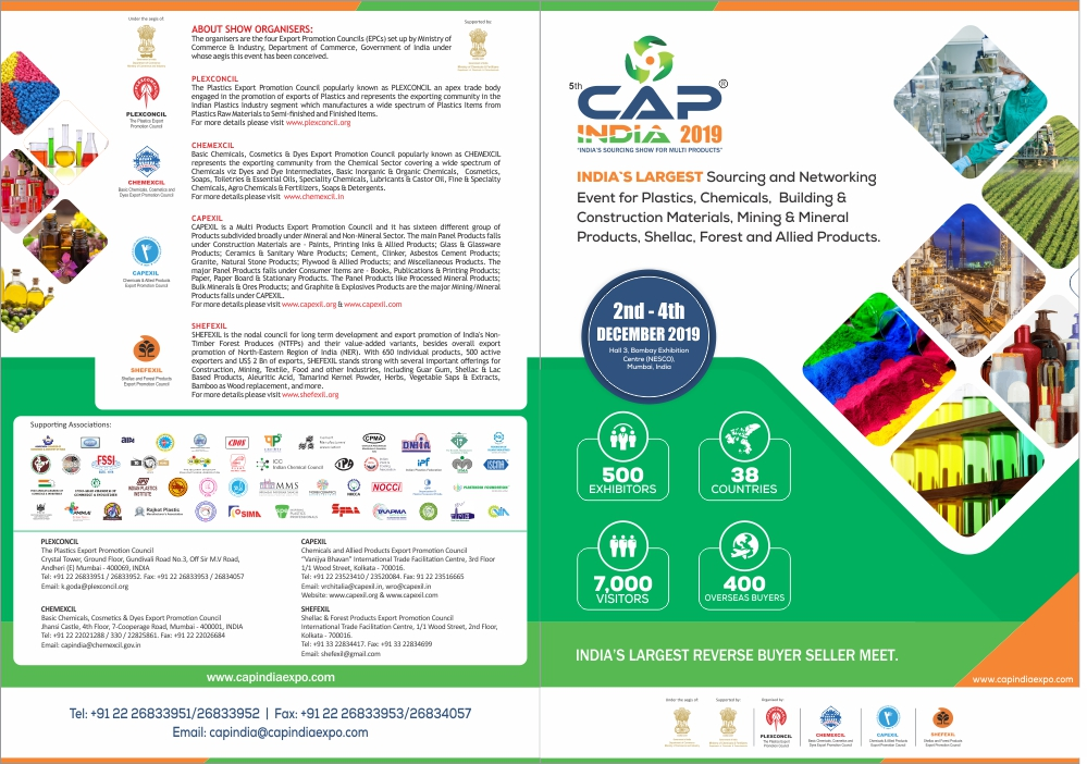 5th CAPINDIA, India's Largest Buyer Seller Meet - 2nd - 4th